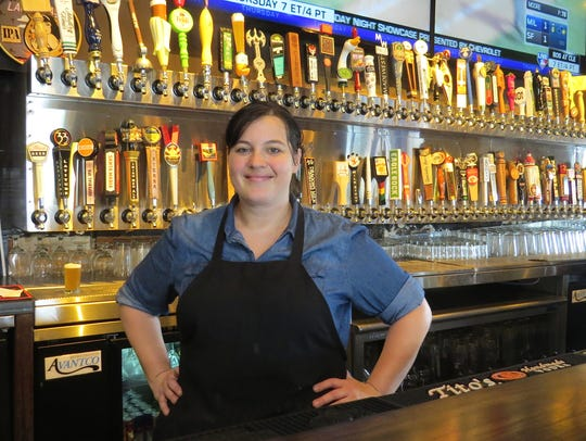 Becky Blosser leads the kitchen at Barrelhouse 101,