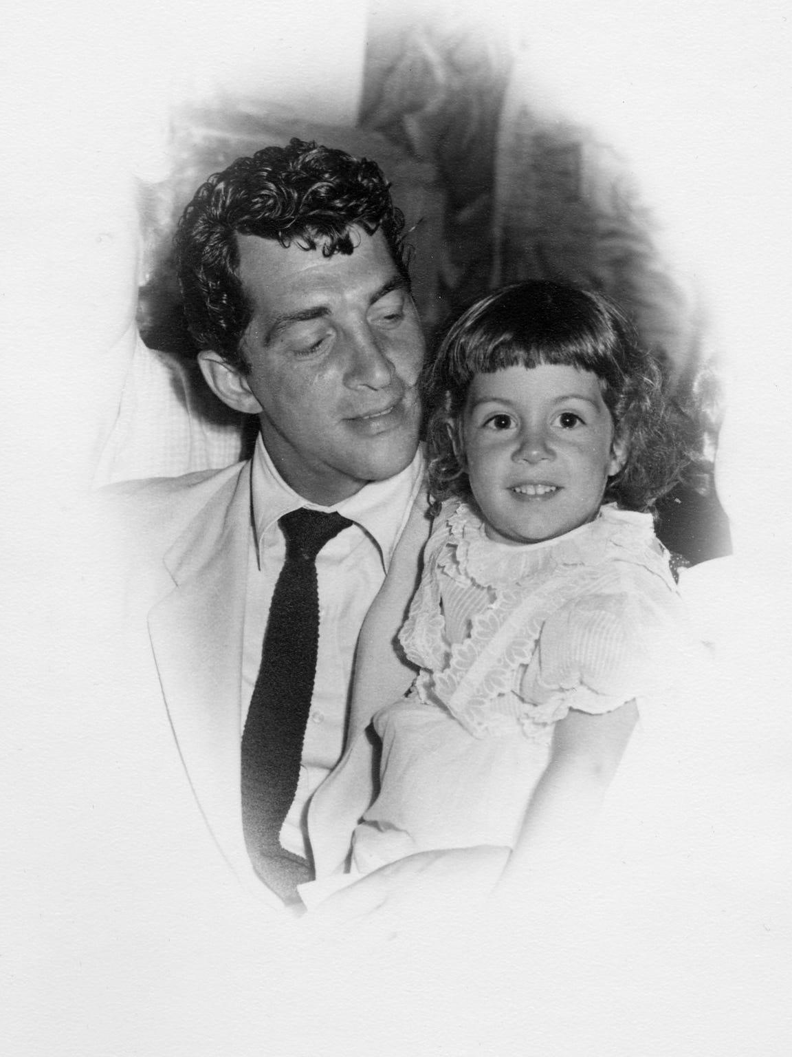 Dean Martin with daughter Deana