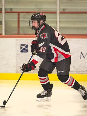 Joe Konvit tallied two goals and an assist in Northern Highlands' 5-2 win over Tenafly/Cresskill on Tuesday, which helped the Highlanders move up to No. 3 in The Record Ice Hockey Top 15.