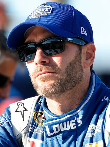 Sprint Cup Series driver Jimmie Johnson, 40, says he