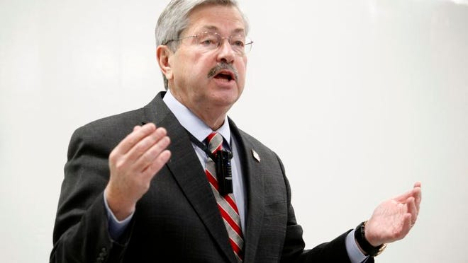 Gov. Terry Branstad.
