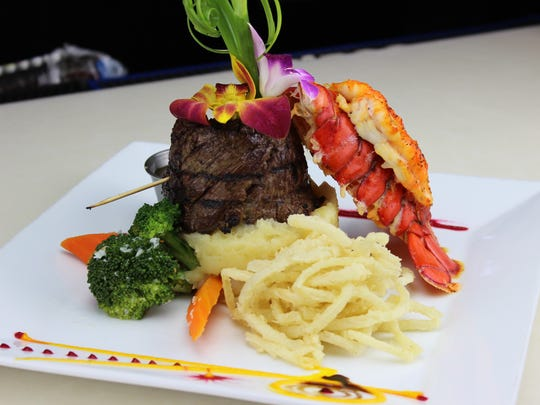 Surf and Turf at Don Coqui on the Hudson in Haverstraw.