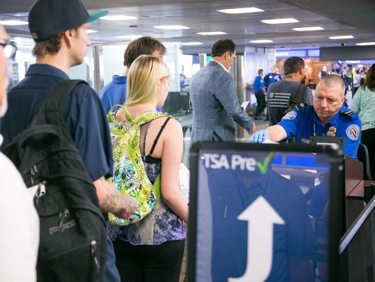 TSA PreCheck line