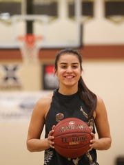 Xavier Prep assistant coach Kamille Diaz will soon be playing professional basketball in Spain, January 5, 2018.