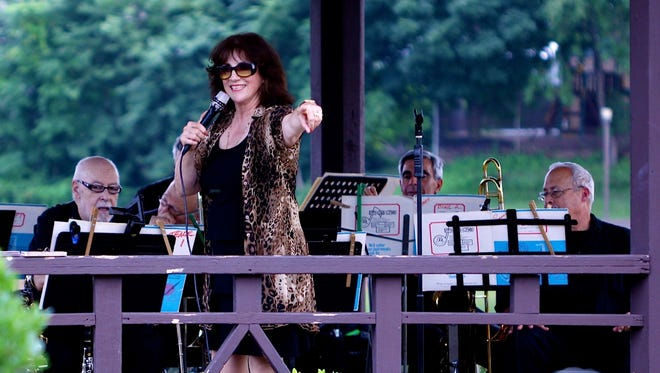 "Vocalist Sandy Sasso brings her ""Little Big Band"" to the Watchung Arts Center on Saturday, Nov. 12 at 8 p.m. as part of the Center's ""Jazz in the Gallery"" series."