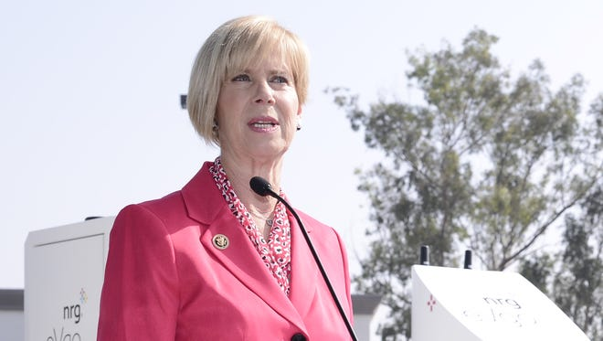 Rep. Janice Hahn, D-Calif. wants a federal investigation into an incident during an arrest by federal marshals in Southern California.