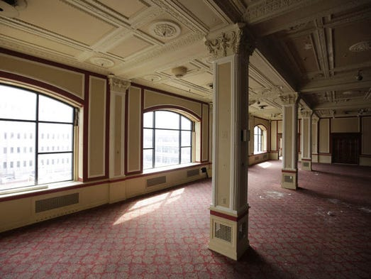 The old Younkers Tea Room.
