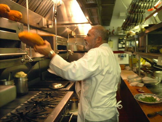 Adele's Restaurant and Lounge Chef-Owner Charlie Abowd pulls some freshly baked bread out of the oven Monday July 31, 2006 while working the lunch crowd. The beloved Carson City restaurant — Café at Adele's, technically, but still called Adele's by everyone — was listed for sale in 2018.
