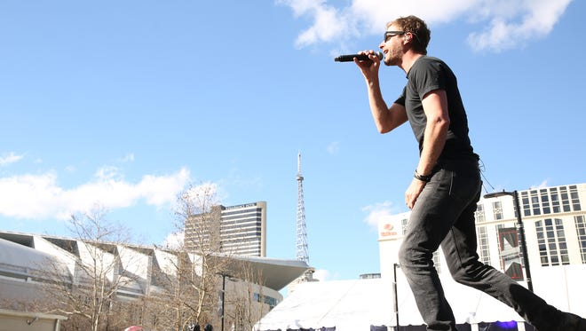 "Dierks Bentley on Saturday will headline Bridgestone Arena, a longtime dream.  ""I won't believe it's true until we get there,"" he says."