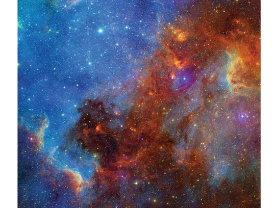 View of the North American nebula taken by Digitized