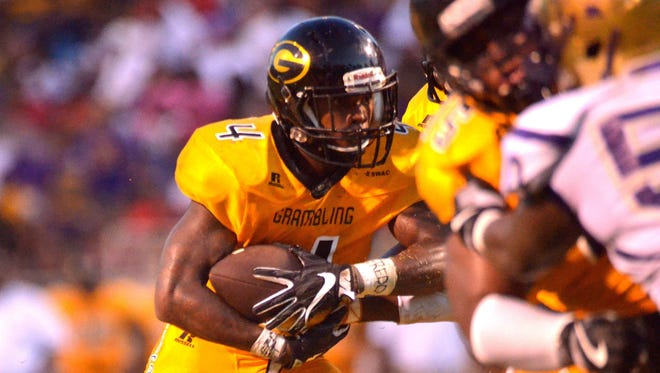 Grambling running back Martez Carter had 131 total yards and two touchdowns in a win over Alcorn State.