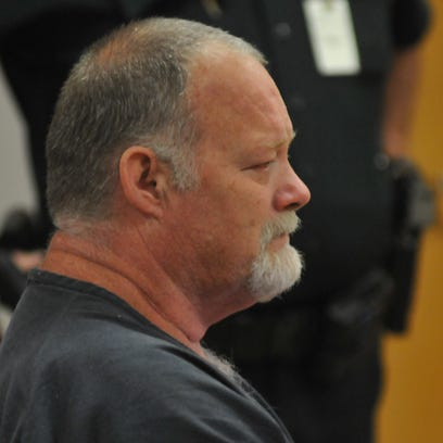 The sentencing at the Moore Justice Center in Viera