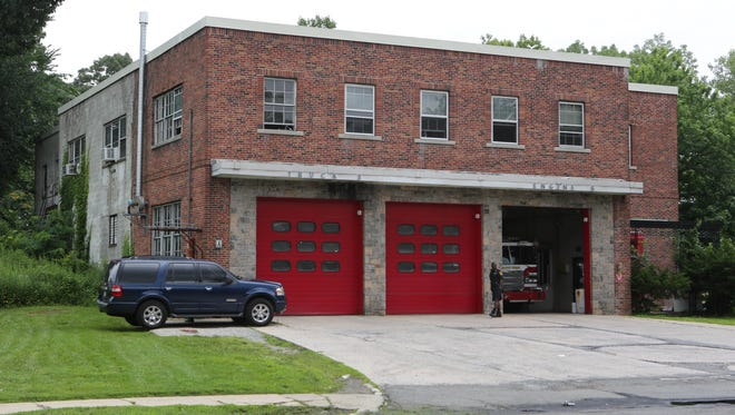 The exterior of the Fulton Avenue Fire Station on South Fulton Avenue in Mount Vernon, shown Wednesday.