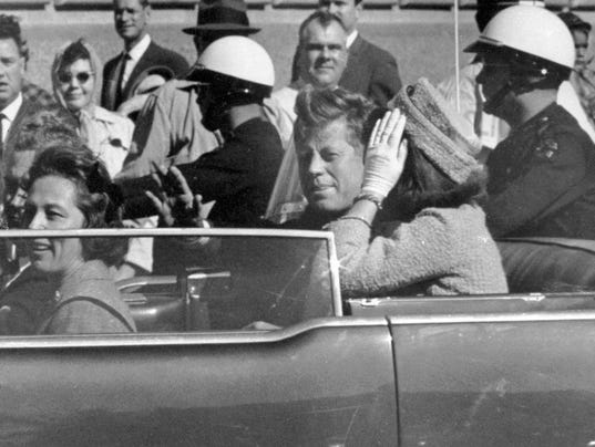 AP TRUMP JFK FILES A FILE USA TX