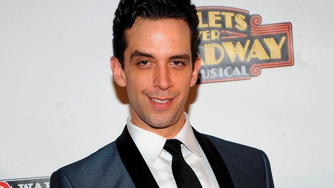 "In this April 10, 2014 file photo, actor Nick Cordero attends the after party for the opening night of ""Bullets Over Broadway"" in New York. Tony Award-nominated actor Cordero, who specialized in playing tough guys on Broadway, will have to have his right leg amputated after suffering complications from the coronavirus, his wife Amanda Koots said on Instagram, Saturday, April 18, 2020."