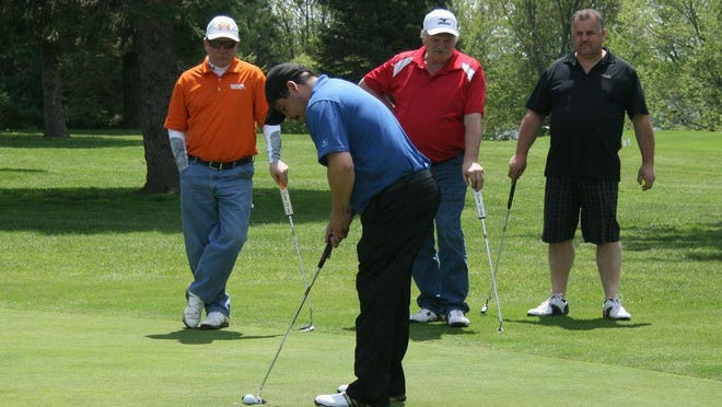 In this photo, Robert Moore golfs during the 2016 Ionia Chamber Golf Classic. The 2020 event has been canceled.
