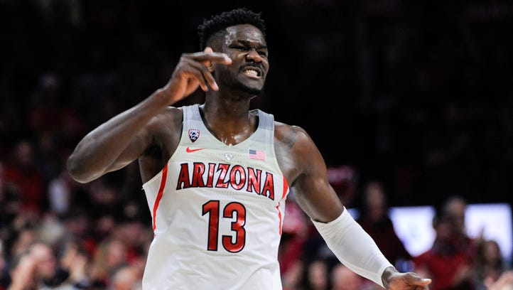 How would Deandre Ayton look in a Suns uniform?
