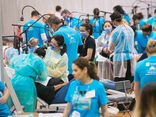 More than 1,000 dental professionals treated patients
