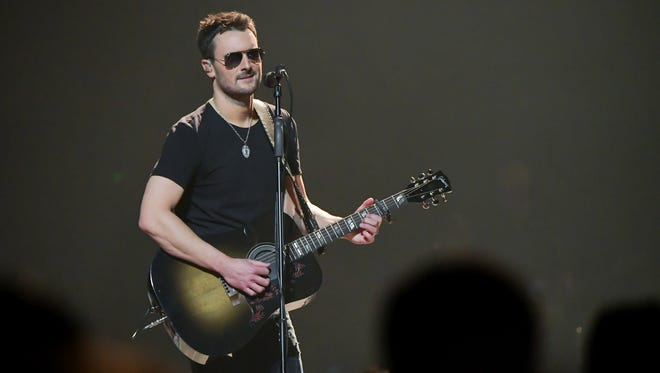 Eric Church will perform Feb. 23 at Bankers Life Fieldhouse.
