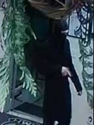 This image from a store surveillance camera shows the