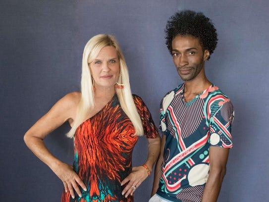 """Fashion Unmasked""  presenting sponsor Jodi Harvey,"