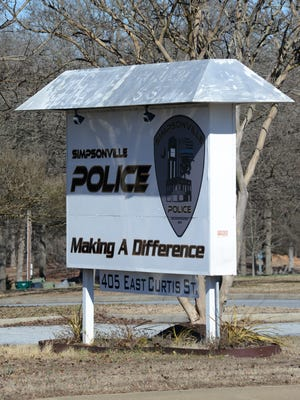 The Simpsonville Police Department arrested 54 people in a prostitution bust.