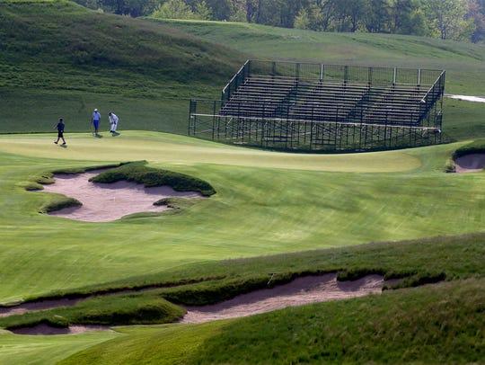 U.S. Open festivities at Erin Hills will begin Monday.