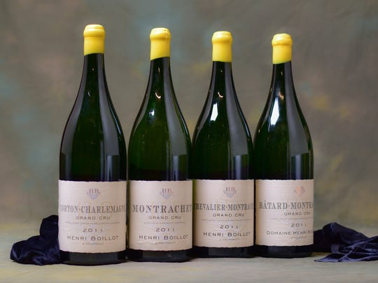 The rare wine auction is a big part of the Off the