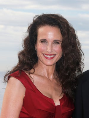 Andie MacDowell earlier this month in Cannes, France.