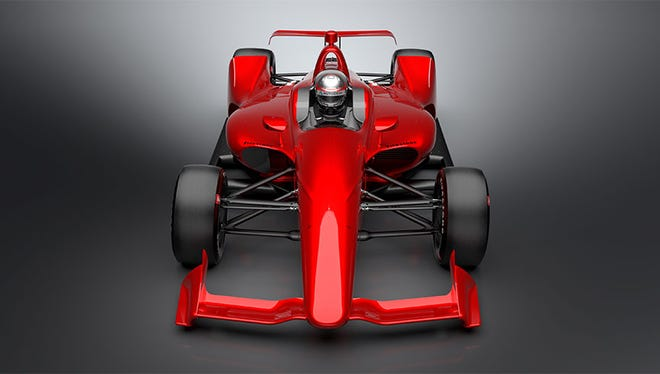 """IndyCar released the """"NEXT"""" concept images of the car that will be used by all Verizon IndyCar Series competitors in 2018."""