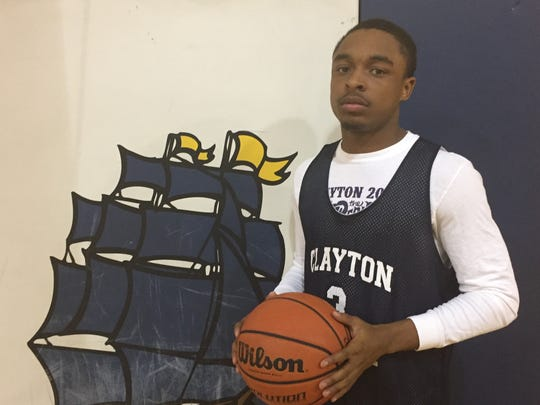 A senior guard, Michael Gibson will be the player Clayton leans on this season as it looks to improve on last year's record and make a run in South Jersey Group 1.