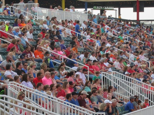 A crowd of 4,588 fans saw the Jackson Generals beat the Mississippi Braves 7-0 on Sunday.
