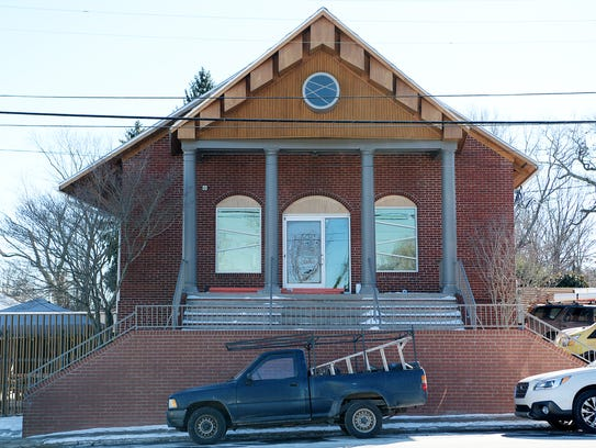 Ambrose West on Haywood Road in West Asheville January