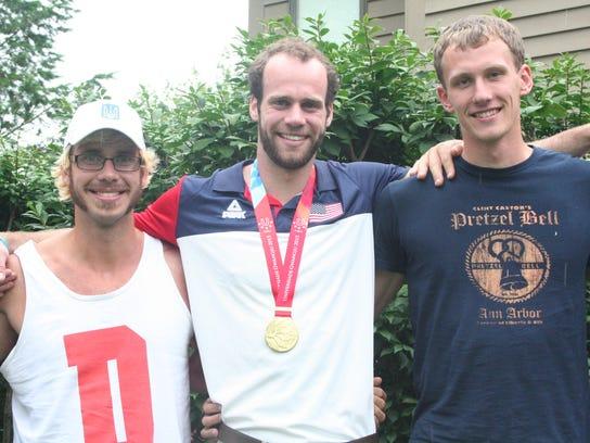 Lakeview grad Matt Herbers helped the U.S. rowing team
