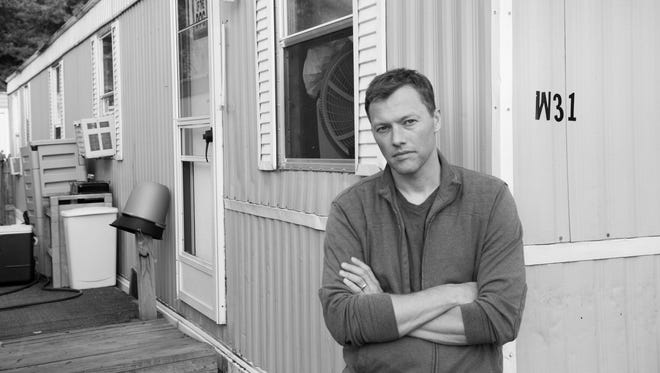 """Harvard scholar Matthew Desmond spent time in a Milwaukee trailer park researching his book """"Evicted: Poverty and Profit in the American City."""""""