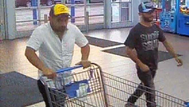 These men are wanted in a quick change scheme at Walmart, Gallatin Police Department Spokesman Janell Wilson said.