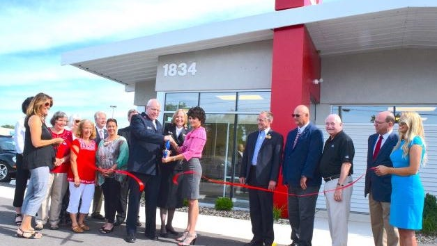 A ribbon-cutting ceremony celebrates the new location of the Salvation Army in Port Clinton at 1834 Perry St.