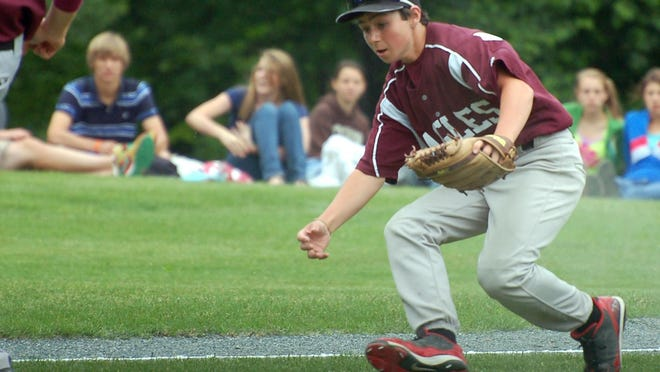 Baltimore Orioles' prospect Ryan McKenna is pictured here in 2010 when at the age of 13 he helped Portsmouth Christian Academy win its first NHIAA Division IV baseball state championship.