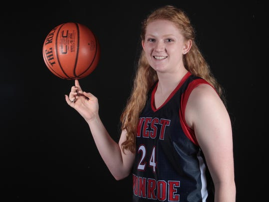Abby Lee - 2015 All-NELA Girls Basketball Player of the Year