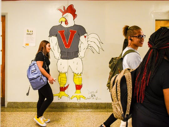 Vineland High School had its first day of the 2016