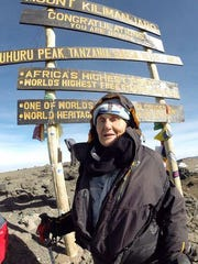 After an eight-day climb, Anne Lorimor, 85, became