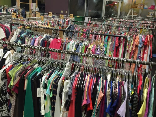 Inventory at Simple Consignments, 1923 Emporium Drive.