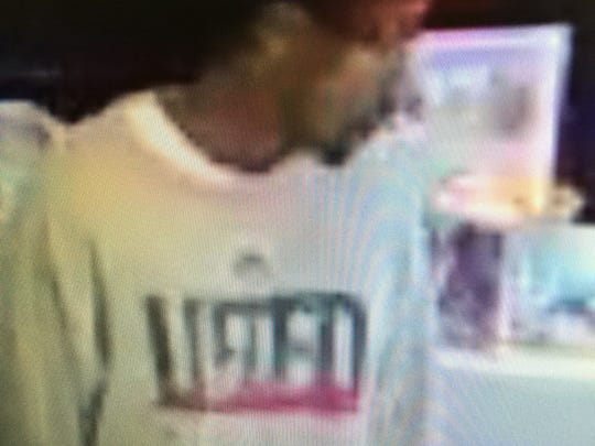 Smyrna police released these images of a man wanted in connection with the robbery of Kay Jewelers on Thursday, Nov. 10.