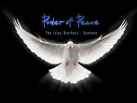 "Santana's latest album, ""Power of Peace."""