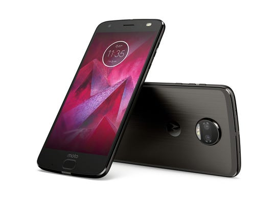 The Moto Z2 Force Edition.