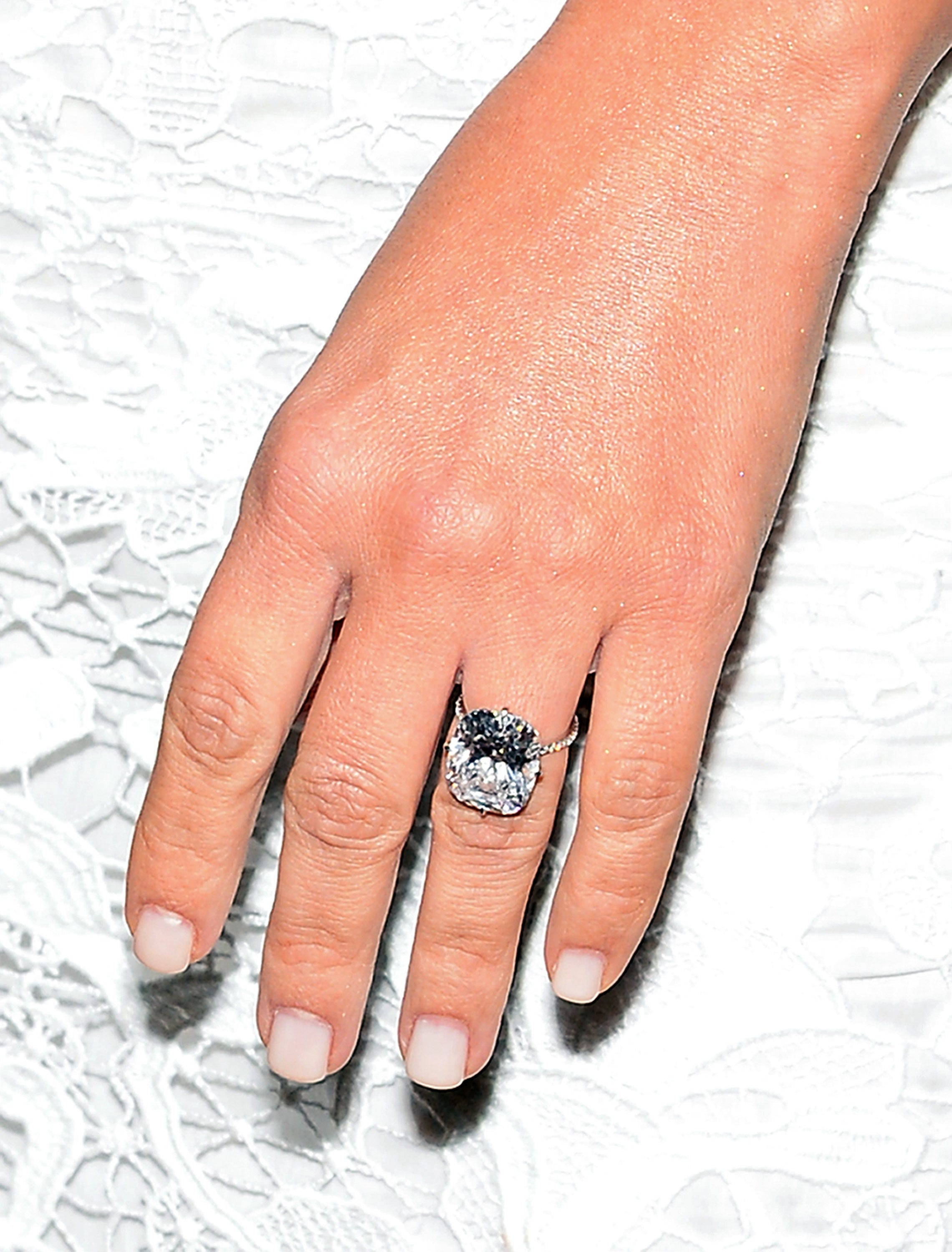 Celebrity engagement rings take big rocks to new level