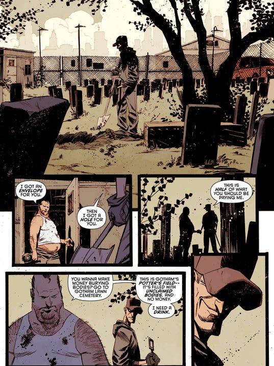Batman 34 page