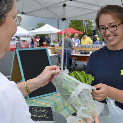 The Milton Farmers' Market opened for the season April 22.