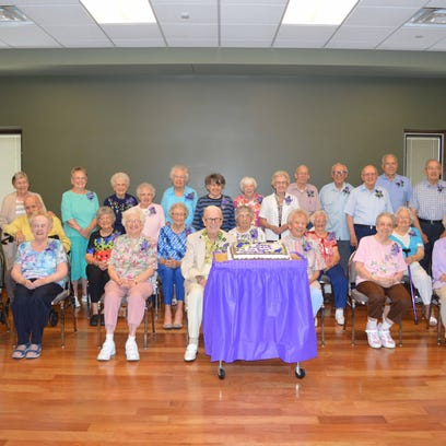 Thirty celebrate their 90-plus birthdays at Holt senior center