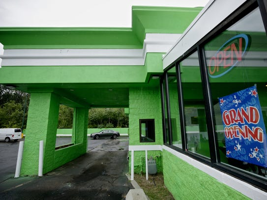 The drive-through window of 420 Dank